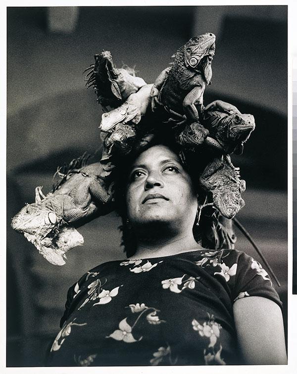 Autor, Graciela Iturbide. Título, Nuestra Se§ora de las Iguanas, Oaxaca